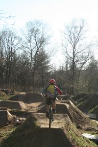 BMX-Strecke Holz