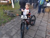 Moritz nach dem Rennen
