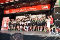 das Campana Racing Team auf dem Podium in Köln